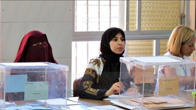 Испания. Сеута. Избирательный участок по выборам в Европарламент.jpg